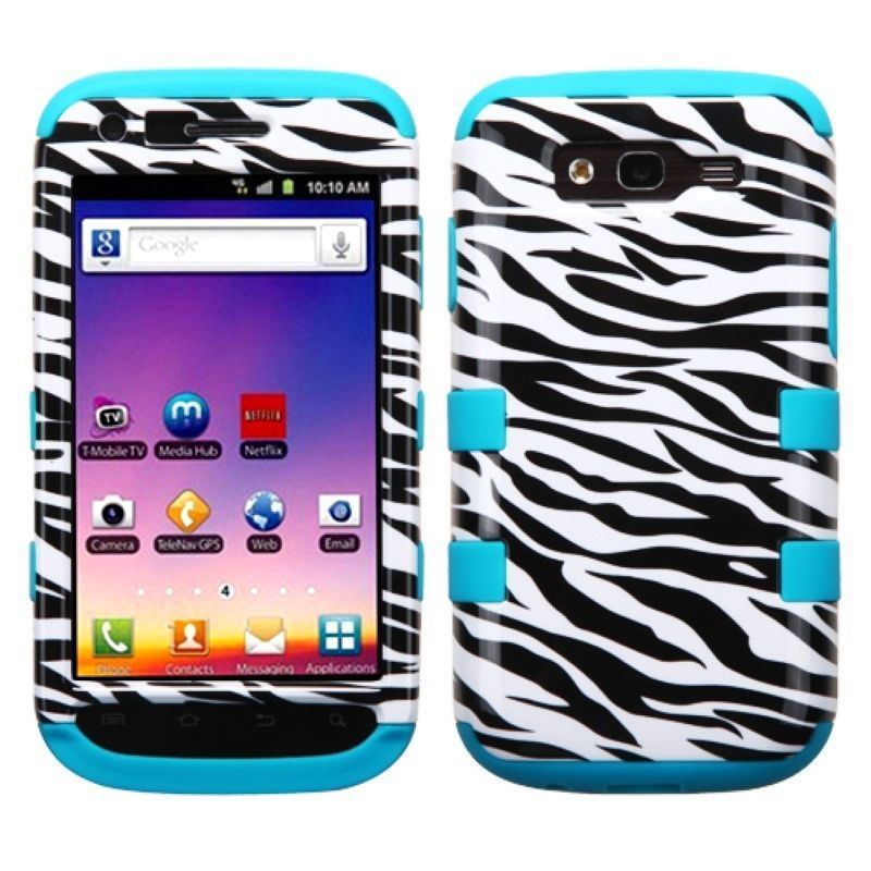 Hybrid Tuff Dual-Layer Armor Case Cover For Samsung Galaxy S Blaze 4G T769