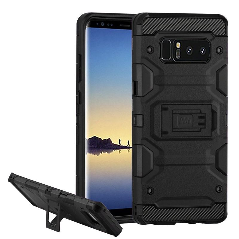 For-Samsung-Galaxy-Note-8-Storm-Tank-Dual-Layer-Hybrid-Stand-PC-TPU-Rubber-Case