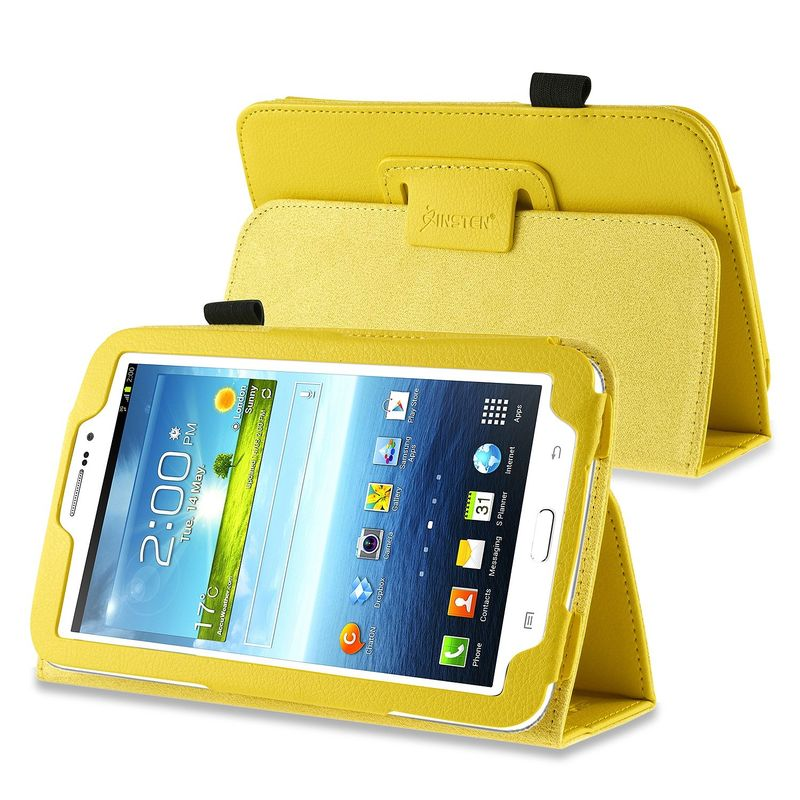 "PU Leather Case Cover Stand For Samsung Galaxy Tab 3 7"" 7.0"" Tablet P3200/Kids"