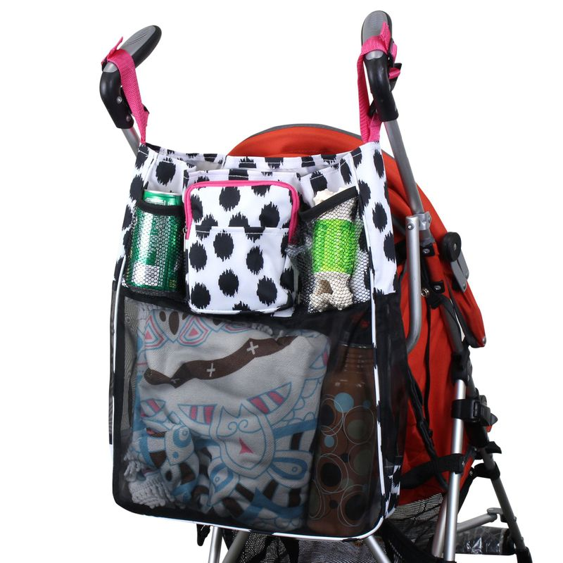 Baby Cart Strollers Bag Buggy Organizer Basket Pushchair Holder Storage Bag Cup