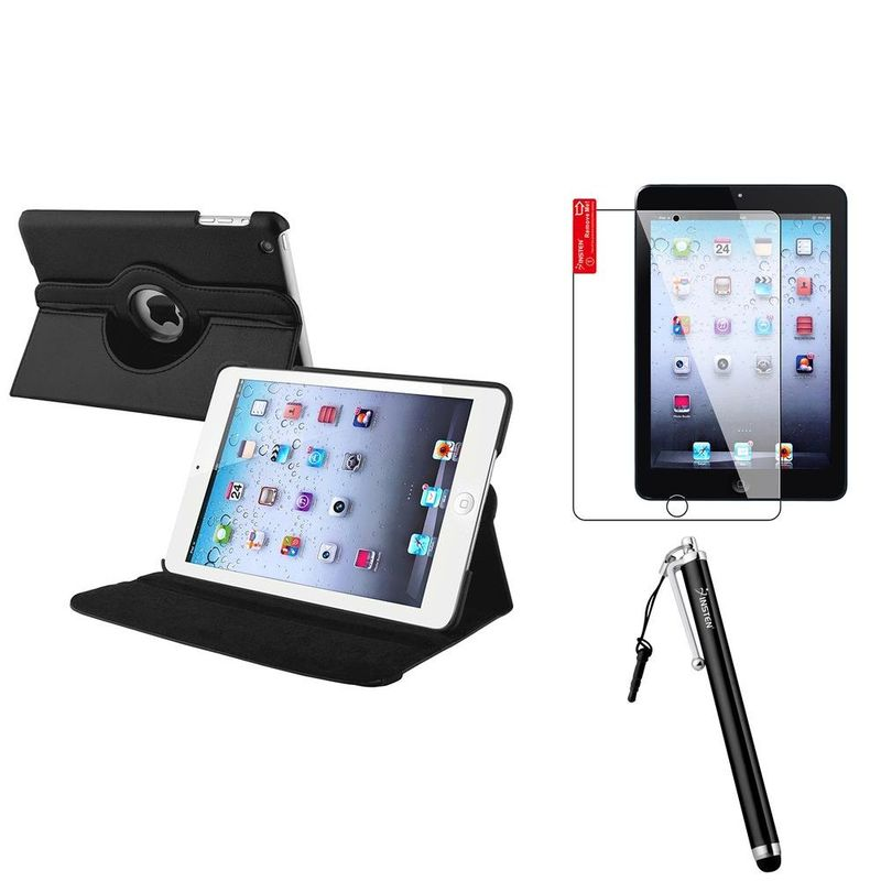 For-Apple-iPad-Mini-1-2-3-New-360-Rotating-Magnetic-PU-Leather-Case-Cover-Stand