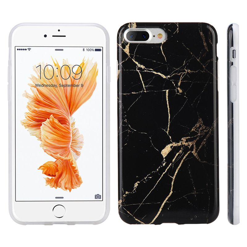 Ultra-Slim-Marble-Pattern-Rubber-Soft-TPU-Back-Case-Cover-for-iPhone-6-7-8-Plus