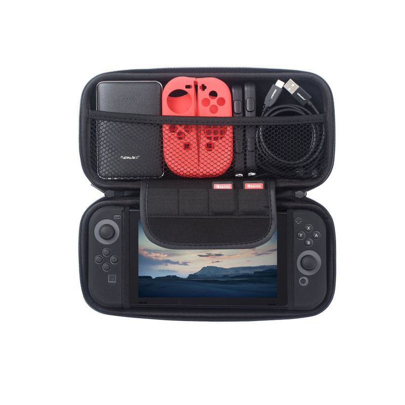 For-Nintendo-Switch-Hard-Shell-Carrying-Case-Protective-Travel-Storage-Bag-Cover miniature 7
