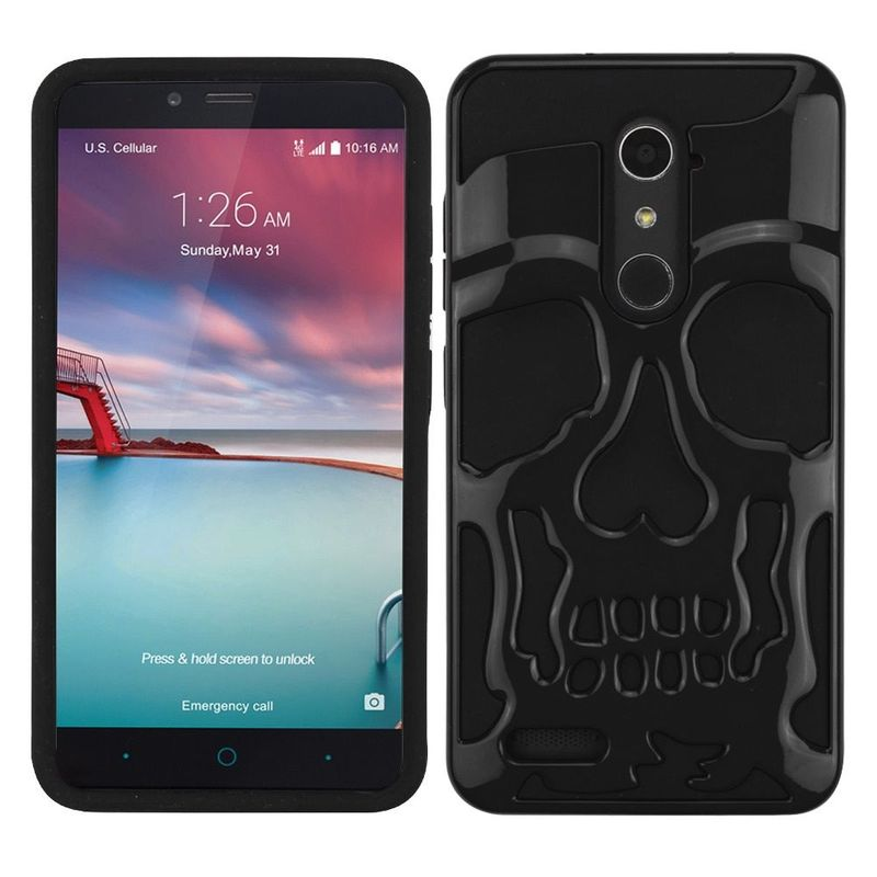 For-ZTE-Grand-X-Max-2-Imperial-Max-Kirk-Max-Duo-4G-ZMAX-2-Pro-Hard-Hybrid-Case