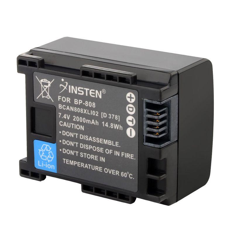 Decoded-Battery-for-Canon-BP-808-BP808-BP-819-BP-809-FS10-FS11-FS100