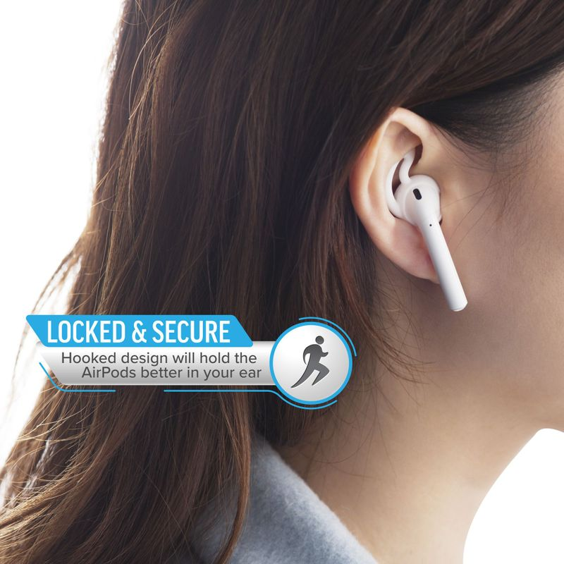 1-2-3-Pair-Ear-Hooks-Anti-Slip-Silicone-Skin-Cover-For-Apple-AirPods-Earbuds-Cap thumbnail 14