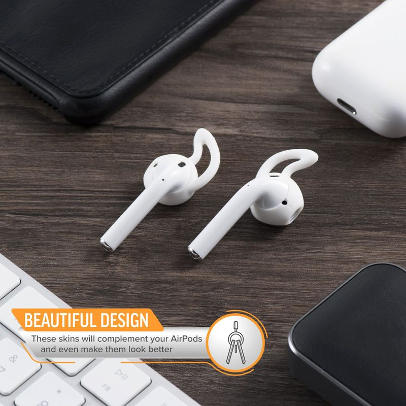 1-2-3-Pair-Ear-Hooks-Anti-Slip-Silicone-Skin-Cover-For-Apple-AirPods-Earbuds-Cap thumbnail 16
