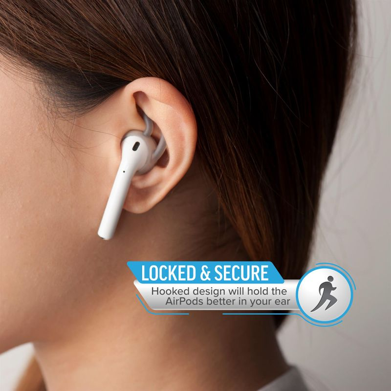 1-2-3-Pair-Ear-Hooks-Anti-Slip-Silicone-Skin-Cover-For-Apple-AirPods-Earbuds-Cap thumbnail 9