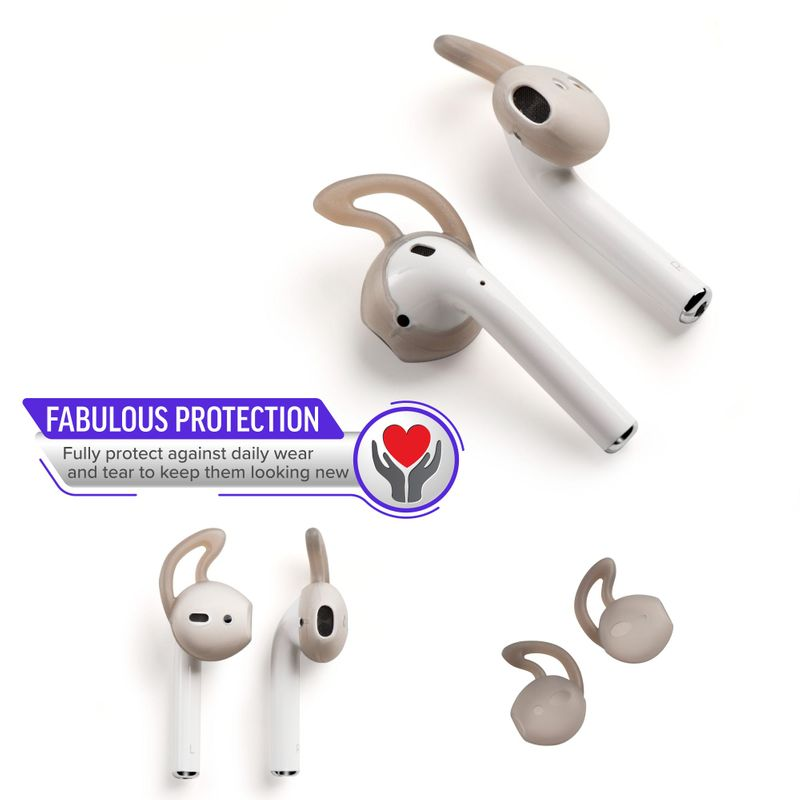 1-2-3-Pair-Ear-Hooks-Anti-Slip-Silicone-Skin-Cover-For-Apple-AirPods-Earbuds-Cap thumbnail 10