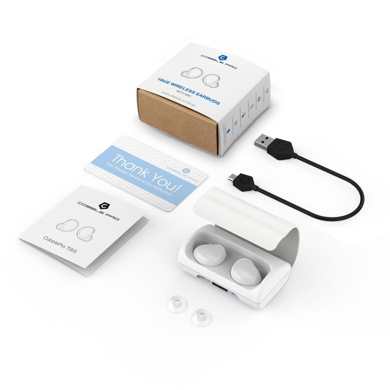 Cobble-Pro-True-Wireless-Bluetooth-5-0-Stereo-Headphone-Earbud-Portable-Charging thumbnail 26