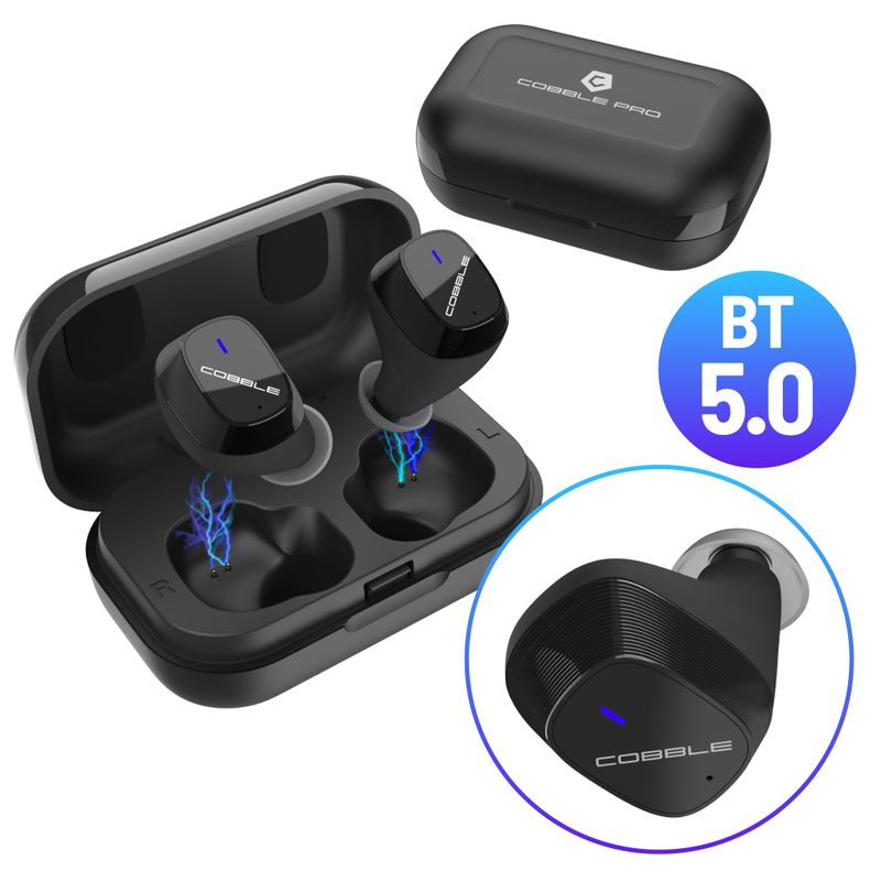 Cobble-Pro-True-Wireless-Bluetooth-5-0-Stereo-Headphone-Earbud-Portable-Charging thumbnail 10