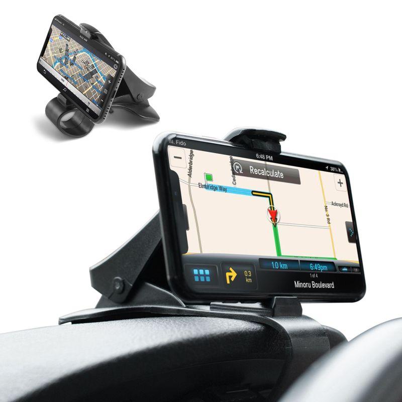 Universal Car Dashboard Mount Holder Stand HUD Clip Cradle f