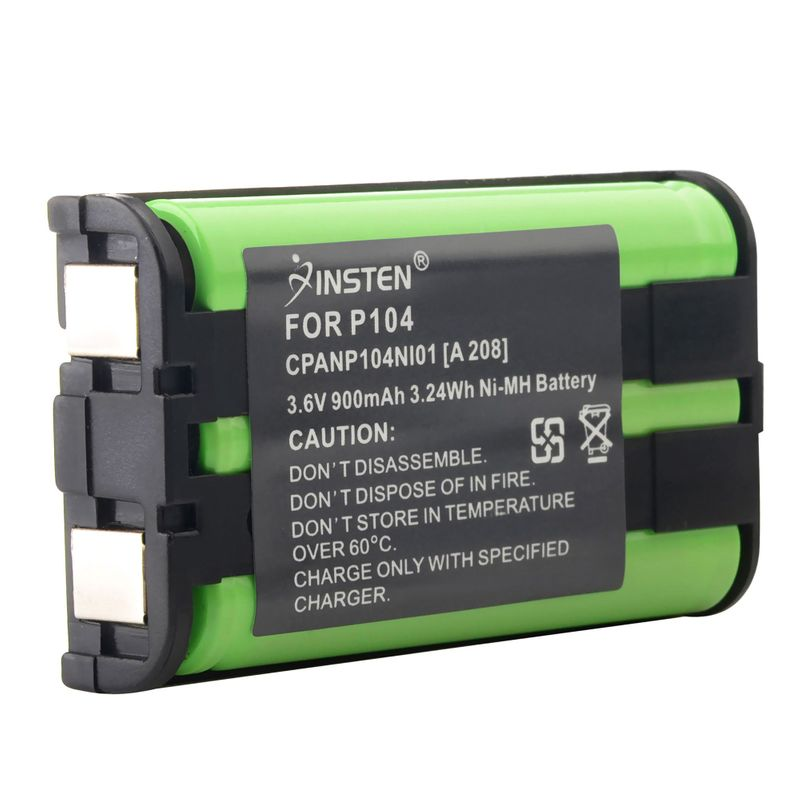 2x-900mAh-Cordless-Home-Phone-Battery-For-Panasonic-HHRP104-HHR-P104-Type-29 miniature 2
