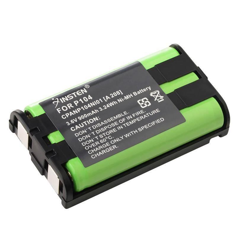 2x-900mAh-Cordless-Home-Phone-Battery-For-Panasonic-HHRP104-HHR-P104-Type-29 miniature 3
