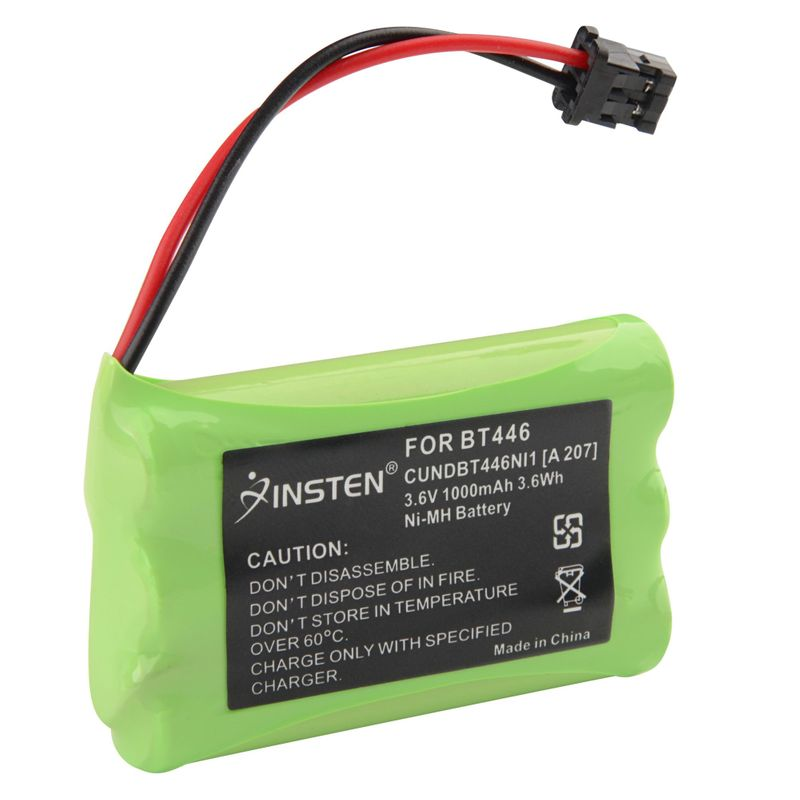 как выглядит New Cordless Phone Battery for Uniden BT-446 BT446 фото