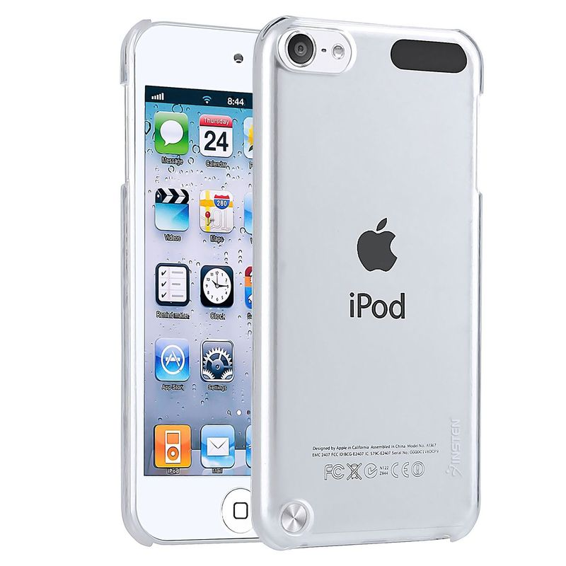 Color-Clear-Crystal-Hard-Back-Case-Clear-Protector-For-ipod-touch-5-6-6th-Gen miniature 3