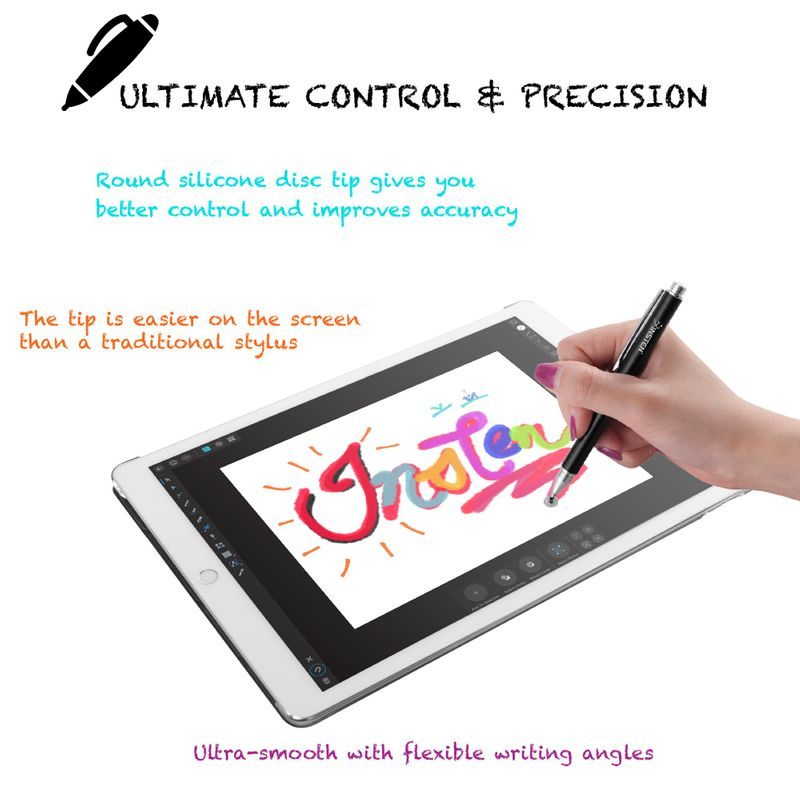 Universal-Capacitive-Tip-Touch-Screen-Stylus-Drawing-Pen-For-iPad-Tablet-iPhone thumbnail 3