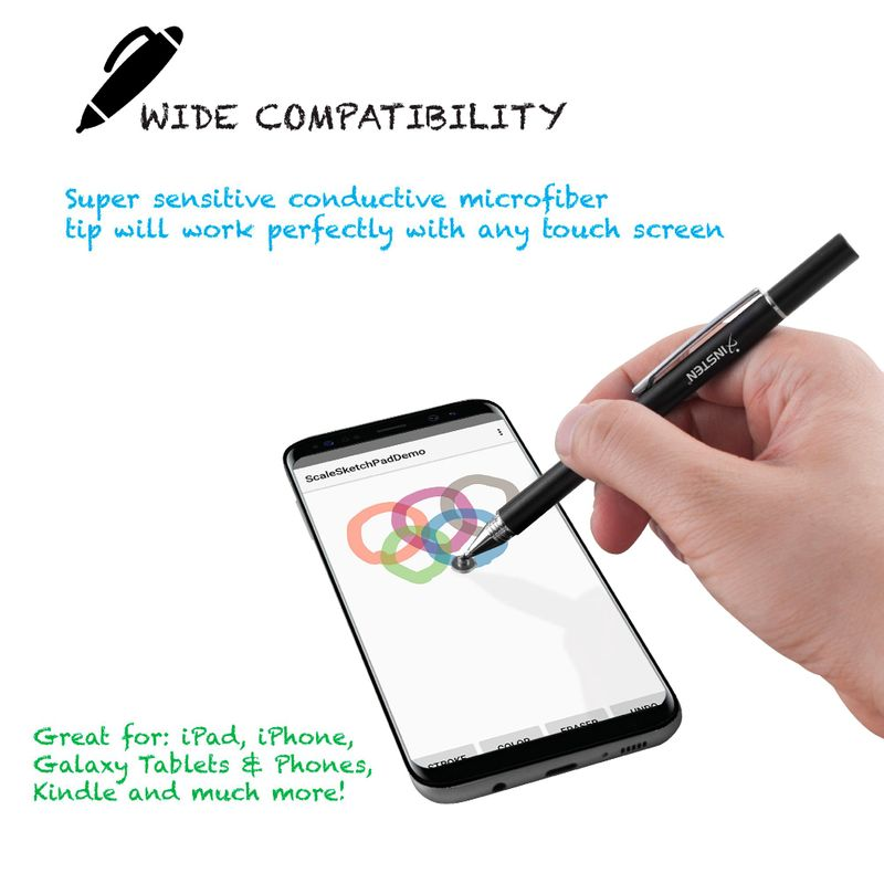 Universal-Capacitive-Tip-Touch-Screen-Stylus-Drawing-Pen-For-iPad-Tablet-iPhone thumbnail 4