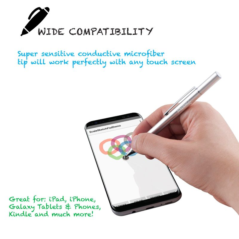 Universal-Capacitive-Tip-Touch-Screen-Stylus-Drawing-Pen-For-iPad-Tablet-iPhone thumbnail 11