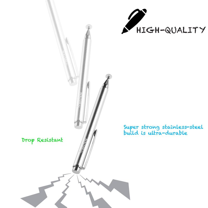 Universal-Capacitive-Tip-Touch-Screen-Stylus-Drawing-Pen-For-iPad-Tablet-iPhone thumbnail 13