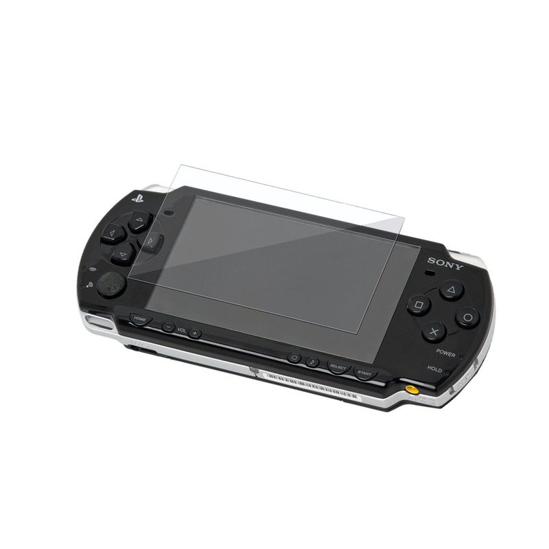 For-Sony-PSP-3000-Crystal-Cover-Case-Clear-LCD-Screen-Protector thumbnail 3