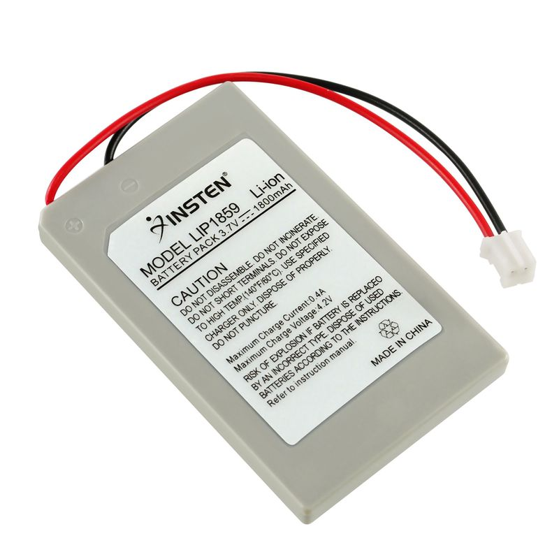 2X-3-7V-1800mAh-Battery-Pack-For-Sony-PS3-Controller thumbnail 2