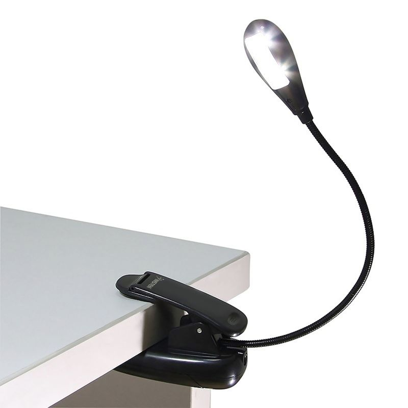 INSTEN-CLIP-CLIP-ON-LED-BRIGHT-READING-LIGHT-FOR-AMAZON-KINDLE thumbnail 2