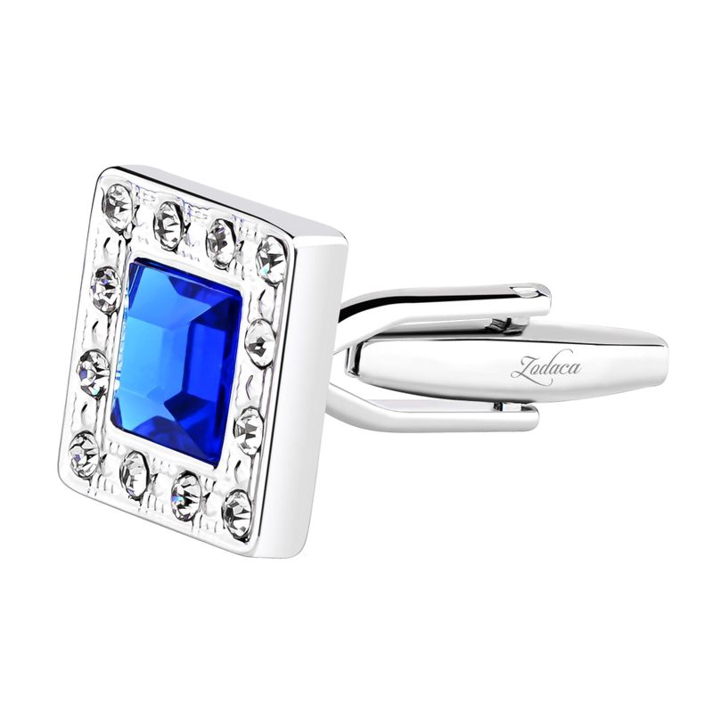 Zodaca-Classic-Fashion-Men-039-s-Wedding-Party-Cufflinks-Cuff-Links thumbnail 111