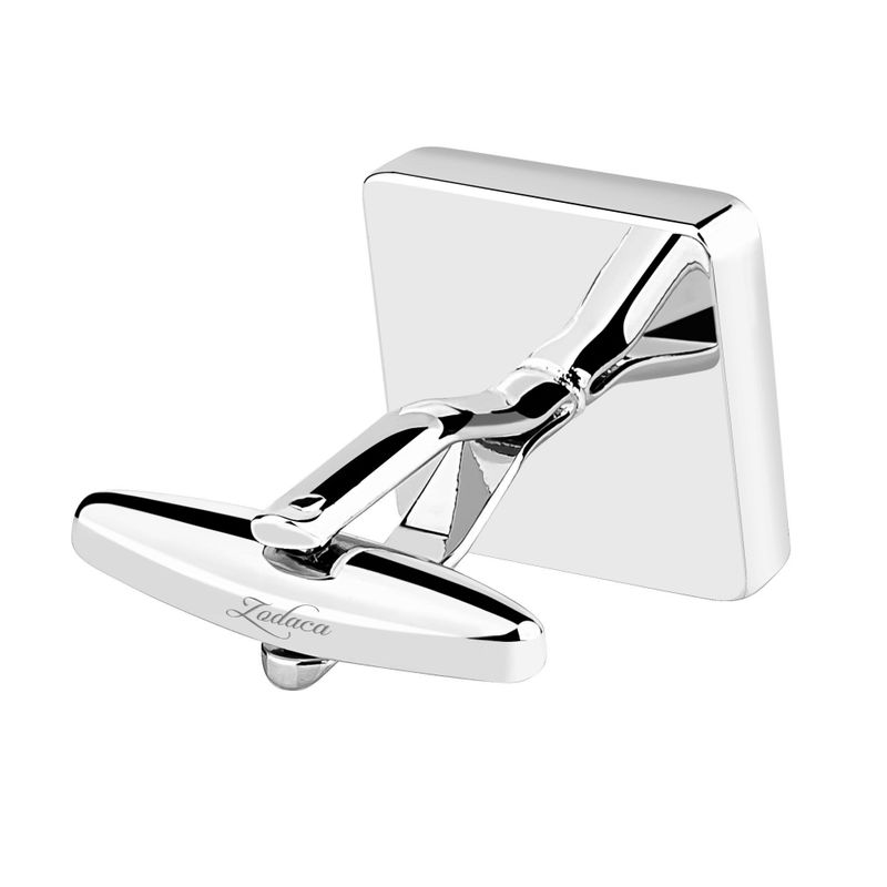 Zodaca-Classic-Fashion-Men-039-s-Wedding-Party-Cufflinks-Cuff-Links thumbnail 112