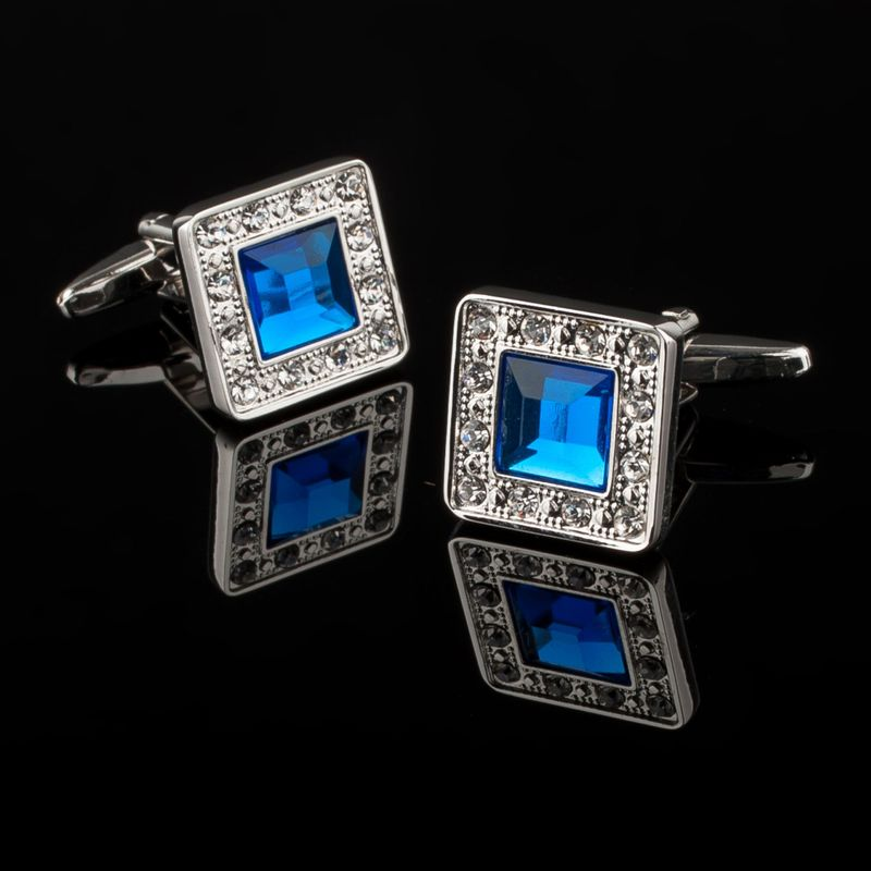 Zodaca-Classic-Fashion-Men-039-s-Wedding-Party-Cufflinks-Cuff-Links thumbnail 113