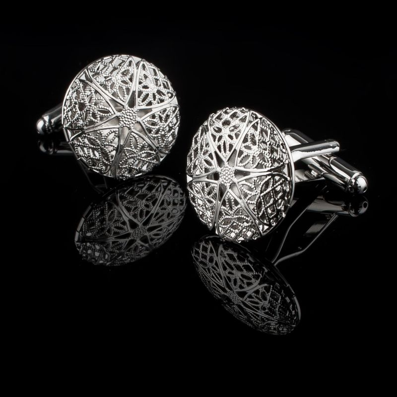 Zodaca-Classic-Fashion-Men-039-s-Wedding-Party-Cufflinks-Cuff-Links thumbnail 58