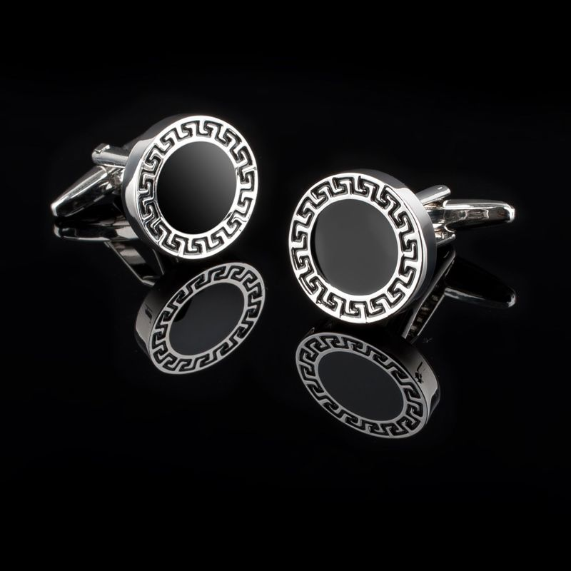 Zodaca-Classic-Fashion-Men-039-s-Wedding-Party-Cufflinks-Cuff-Links thumbnail 117