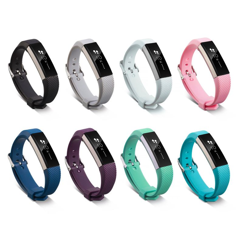 Silicone-Replacement-Wristband-Watch-Band-Strap-For-Fitbit-Alta-Fitbit-Alta-HR miniature 40