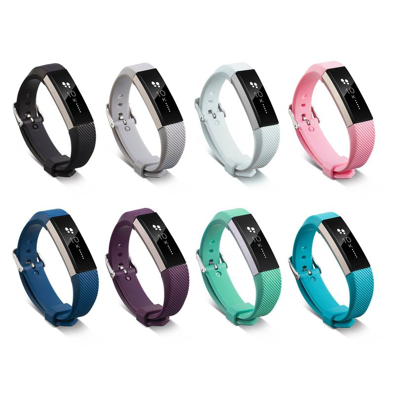 Silicone-Replacement-Wristband-Watch-Band-Strap-For-Fitbit-Alta-Fitbit-Alta-HR miniature 54