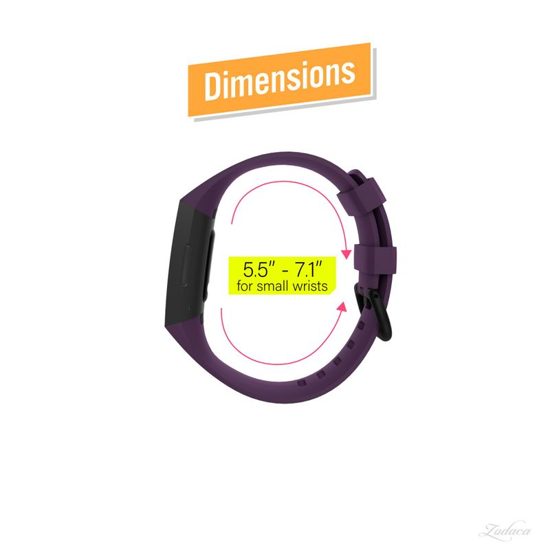 Replacement-Watch-Band-For-Fitbit-Charge-3-Wristband-Silicone-Bracelet-Strap thumbnail 44