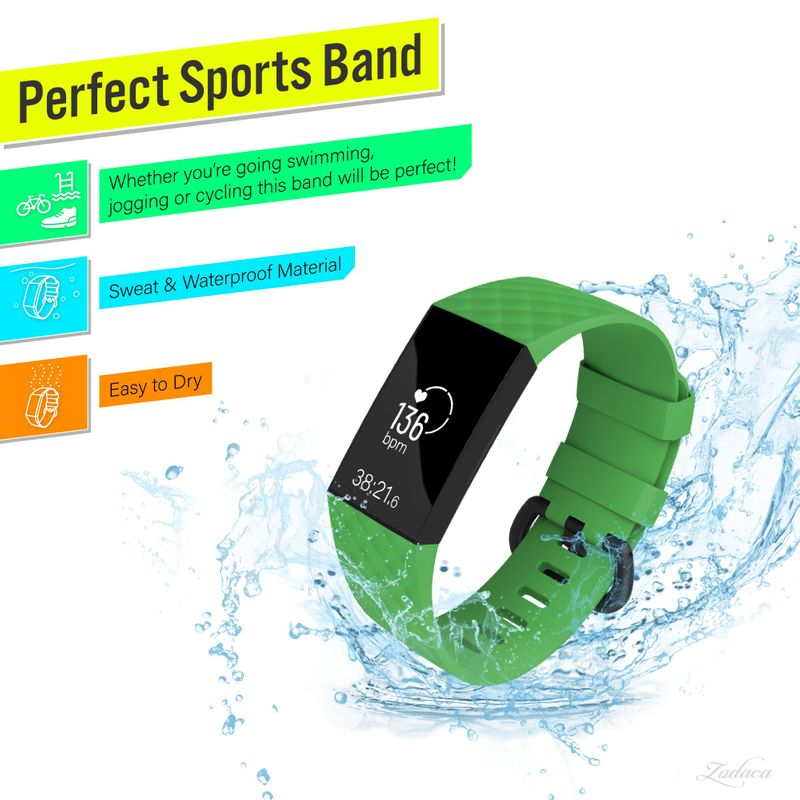 Replacement-Watch-Band-For-Fitbit-Charge-3-Wristband-Silicone-Bracelet-Strap thumbnail 23