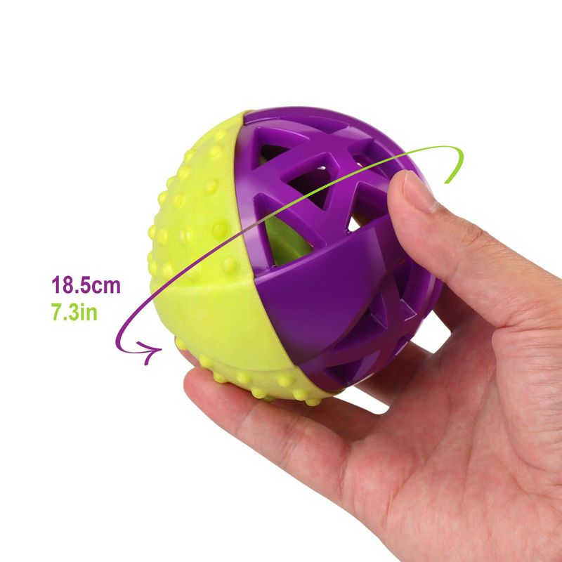 Green-Purple-Pet-Dog-Squeaking-Chew-Tooth-Cleaning-Toys-For-Small-Dog-Puppies thumbnail 10