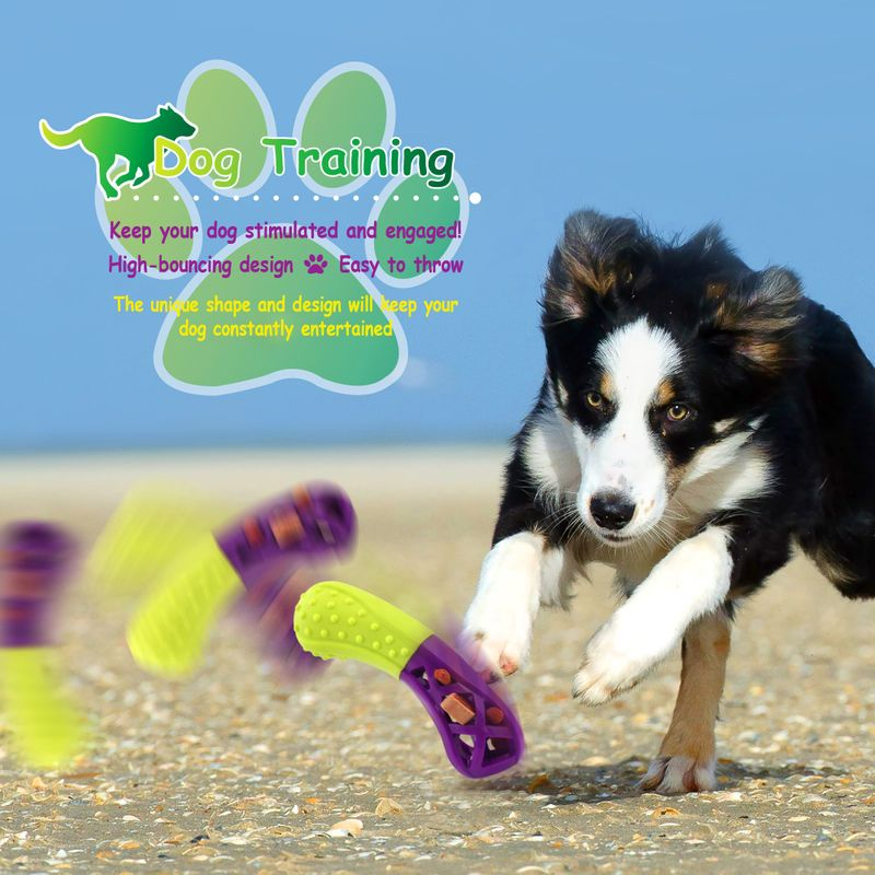 Green-Purple-Pet-Dog-Squeaking-Chew-Tooth-Cleaning-Toys-For-Small-Dog-Puppies thumbnail 12