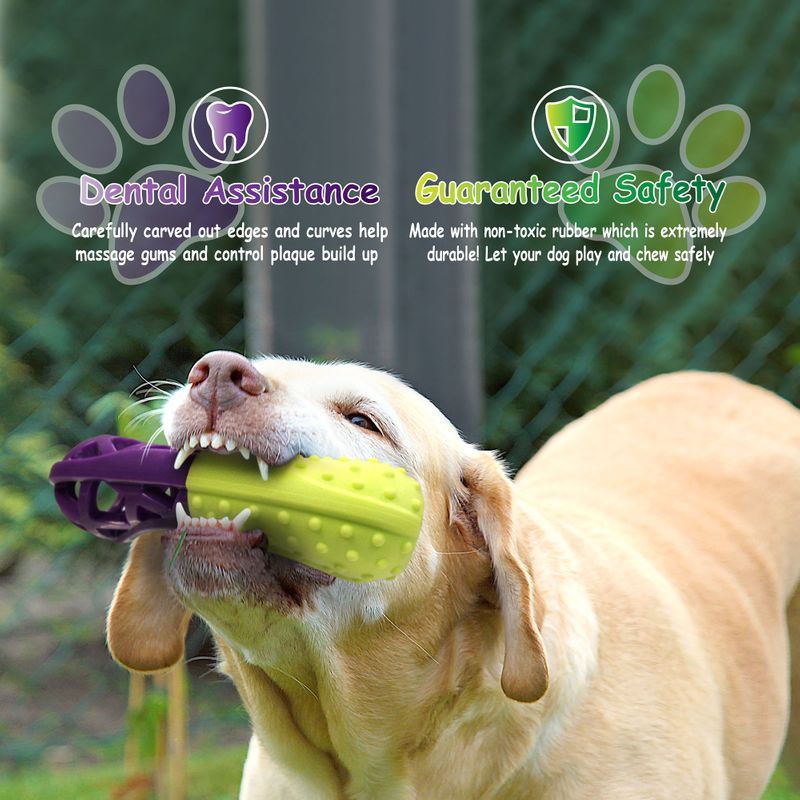 Green-Purple-Pet-Dog-Squeaking-Chew-Tooth-Cleaning-Toys-For-Small-Dog-Puppies thumbnail 16
