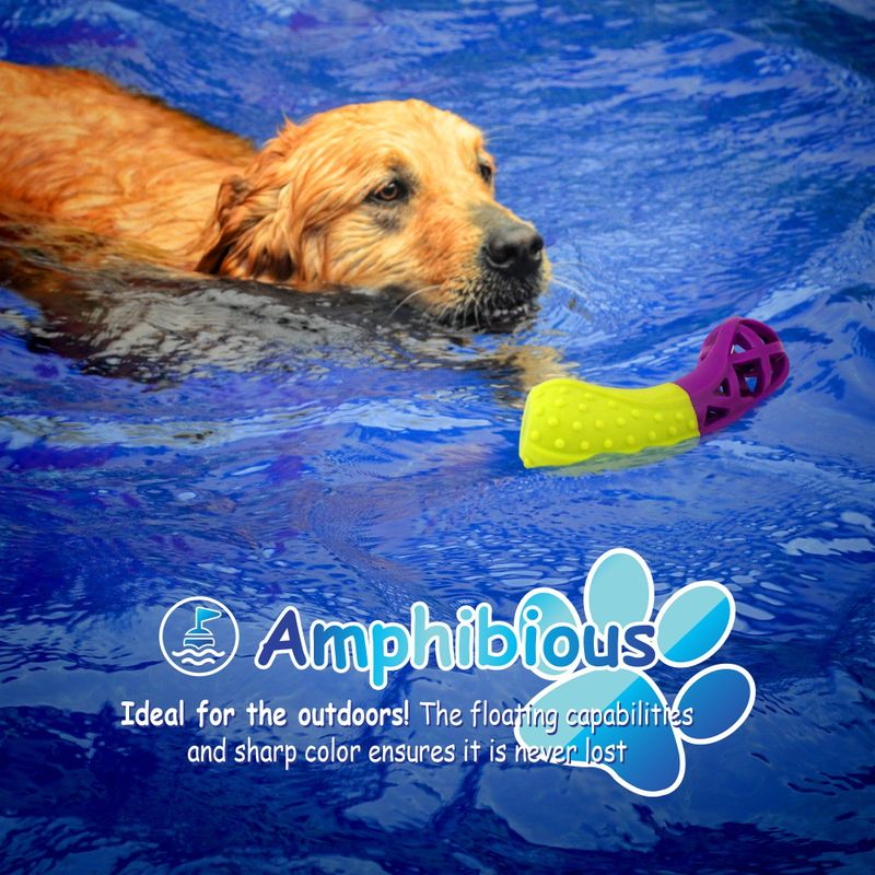 Green-Purple-Pet-Dog-Squeaking-Chew-Tooth-Cleaning-Toys-For-Small-Dog-Puppies thumbnail 18