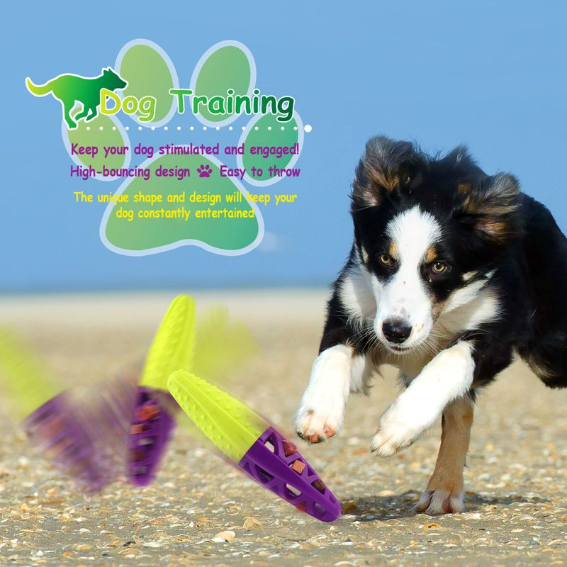 Green-Purple-Pet-Dog-Squeaking-Chew-Tooth-Cleaning-Toys-For-Small-Dog-Puppies thumbnail 21