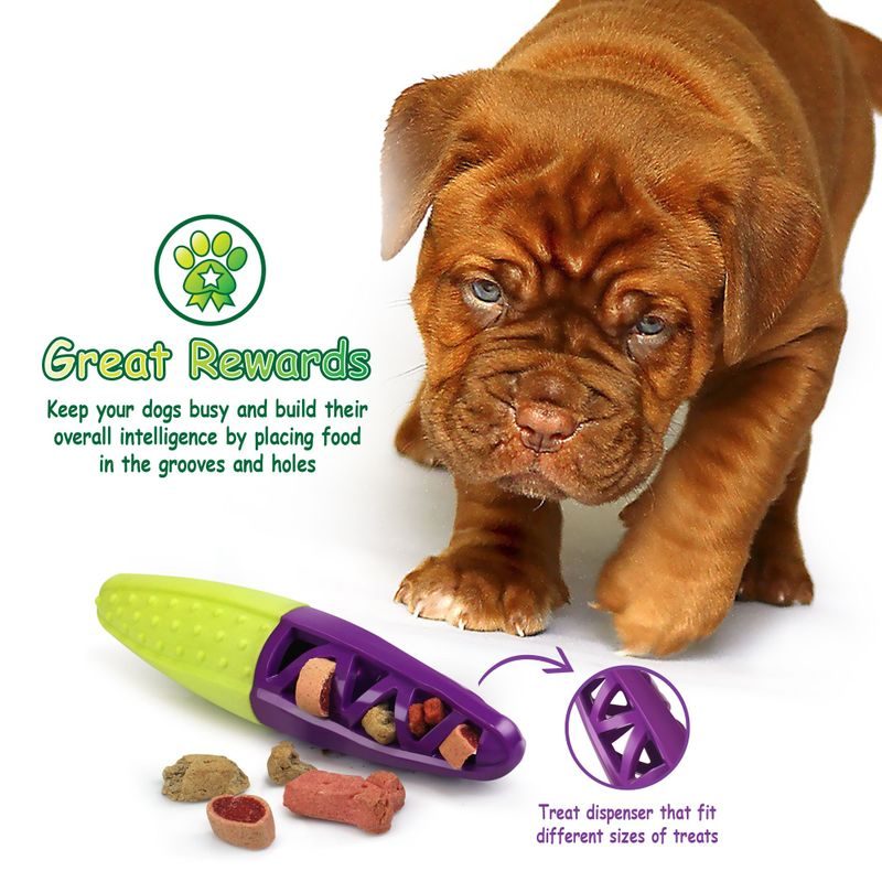 Green-Purple-Pet-Dog-Squeaking-Chew-Tooth-Cleaning-Toys-For-Small-Dog-Puppies thumbnail 22