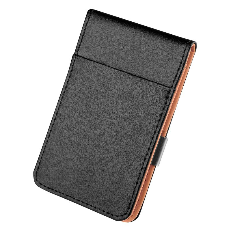 Mens-Genuine-Leather-Silver-Money-Clip-Slim-Wallets-Black-ID-Credit-Card-Holder thumbnail 21