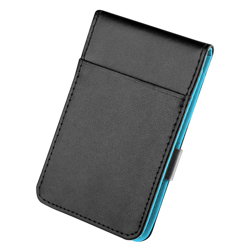 Mens-Genuine-Leather-Silver-Money-Clip-Slim-Wallets-Black-ID-Credit-Card-Holder thumbnail 13
