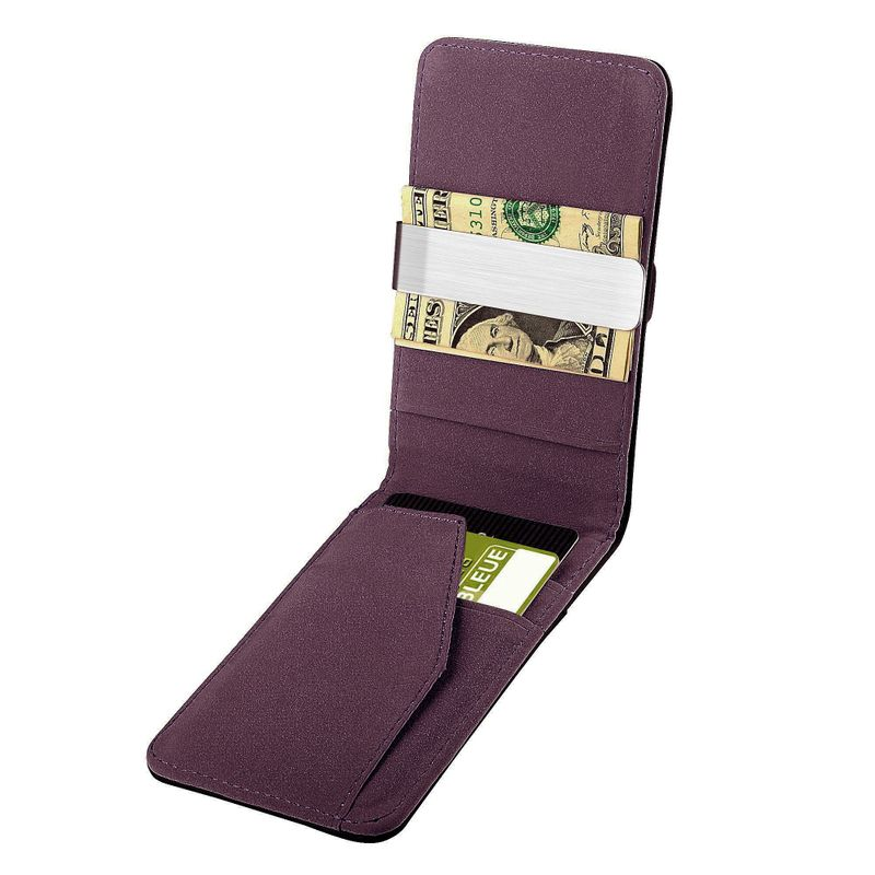 Mens-Genuine-Leather-Silver-Money-Clip-Slim-Wallets-Black-ID-Credit-Card-Holder thumbnail 23