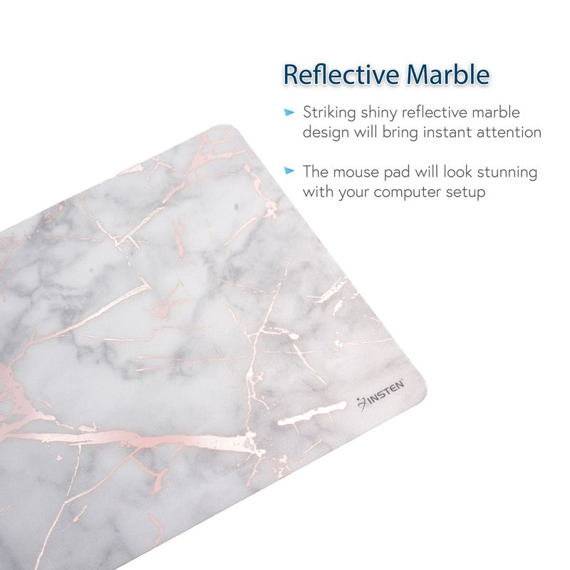 Non-Slip-Marble-Design-Mousepad-Mouse-Pad-Desk-Mat-For-Laptop-Gaming-Computer-PC thumbnail 23