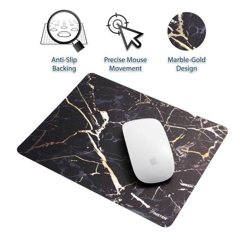 Non-Slip-Marble-Design-Mousepad-Mouse-Pad-Desk-Mat-For-Laptop-Gaming-Computer-PC thumbnail 2