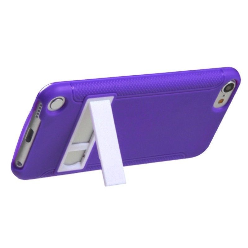 Black-White-Purple-Pink-Gummy-Hard-Stand-Case-Cover-For-ipod-touch-5-6-5th-Gen thumbnail 16