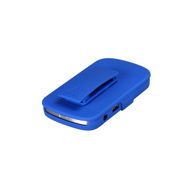 Rubberized-Hard-Case-Stand-Holster-Belt-Clip-For-Blackberry-Bold-9900-Bold-9930 miniature 5