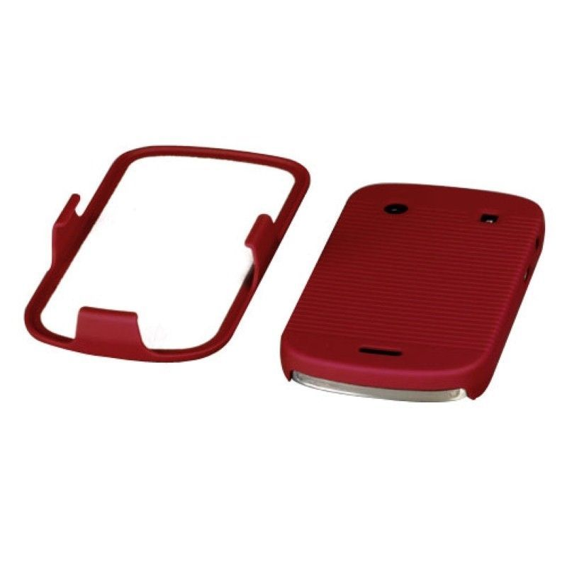 Rubberized-Hard-Case-Stand-Holster-Belt-Clip-For-Blackberry-Bold-9900-Bold-9930 miniature 10